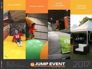 location vente jeux gonflables france jump event